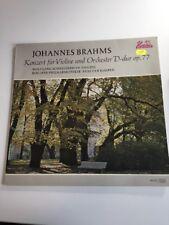 Johannes Brahms LP Violine Und Orchester D-Dur Op 77