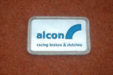 """""""ALCON"""" - Racing brakes & Clutches - SEW ON FABRIC BADGE PATCH (NEW)"""
