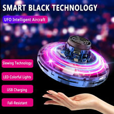 360° Hands-Free Mini Drone Flying Ball Helicopter UFO Toy for Kids Gift US F9R8