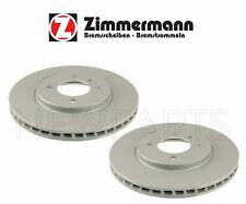 NEW BMW E30 3-Series Pair Set of Two Front Brake Disc Rotors 260x22mm Zimmermann