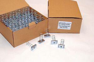 (100) Strut Channel Nuts 5/16-18 Standard Spring Zinc Plated Unistrut Nut