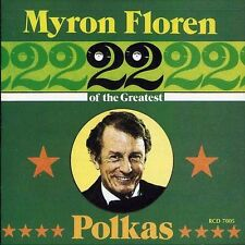 Myron Floren - 22 of the Greatest Polkas Hits 1 [New CD]