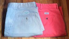 Ralph Lauren Polo Lot Of 2 Chino Shorts Men's Size 42 Golf