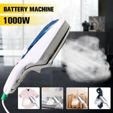 1000W Electric Steam Iron Hand Handheld Fabric Laundry Steamer Brush Travel 220V