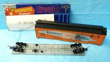 Vtg Roundhouse Ho Scale Model Train 50' Box Car Kit 1220 Western Pacific 3C#1