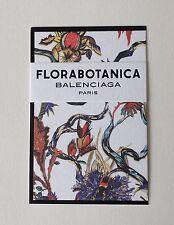 Tres joli carte parfumee Florabotanica De Balenciaga