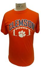 Men's NCAA Clemson Sports Size small  Cut preowned small market spots on SLEEVE