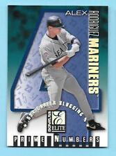 1998 Donruss Elite Prime Numbers 11c Alex Rodrigues 126/534
