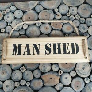 Handmade  ''MAN SHED'' wall plaque