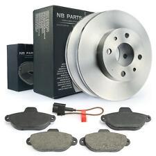 Bremsscheiben + Bremsbeläge vorne 240mm voll Fiat 500 1.2 LPG Ford Ka 1.2