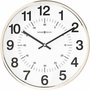 Howard Miller Easton Wall Clock 625-207 - Modern & Round with Quartz Movement