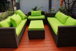 Pallet Furniture Bright Green Outdoor Cushion Covers DIY Waterproof Anti Fade