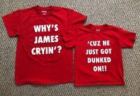 Set Of 2 Froggy Fresh T-shirts - Krispy Kreme - Dunked On