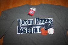 d2a3bd8b NEW Old Stock Gray Tucson Padres Minor League Baseball Cotton t-Shirt Size  XL
