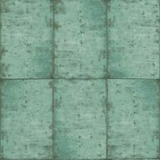 Rasch Textil Greenhouse Papel Pintado 138879 Azulejos Verde Fieltro