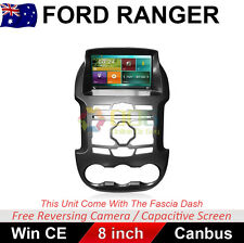 "8""Car Dvd GPS Head Unit stereo usb  For Ford Ranger PX XL XLS XLT 2012 - 2015"