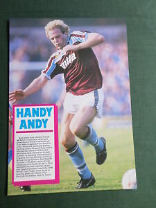 ANDY GRAY -1 PAGE PICTURE- CLIPPING/CUTTING