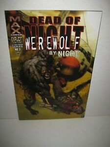 DEAD OF NIGHT WEREWOLF BY NIGHT #2 MARVEL GRUESOME COVER GEM