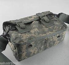 "US MILITARY MOLLE II 300 Round 7.62mm Ammo Bag ACU, SAW AMMO BAG ""Brand New"""