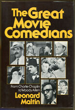 The Great Movie Comedians by Leonard Maltin-From Chaplin to Woody Allen-1978