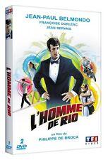 JEAN PAUL BELMONDO - L'HOMME DE RIO - 2  DVD NEUF CELLO