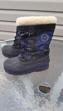 UGG Australia US Size1  Bobbey Boots Youth Kids Girls Boys Midnight Navy Unisex