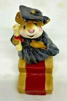 """RETIRED Wee Forest Folk 1989 m-161 """"Commencement Day"""" Signed """"AP"""""""