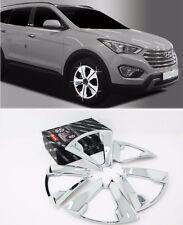 Chrome Wheel Cover Molding 20Pcs 1Set Fit: Hyundai Grand Santa Fe XL 2014 2015