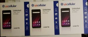 "(Lot of 3) US Cellular Alcatel 1B 5.5"" 2 cams 16Gb Internal 3k mAH.shipped free"