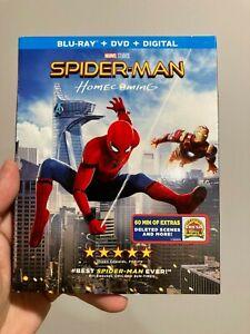 LIKE NEW - Spiderman Homecoming Blu Ray DVD Set