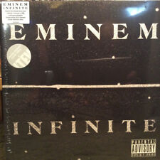 RARE Eminem - Infinite LP / Frosted Clear Vinyl (NEW & SEALED) 1 of 1000 copies