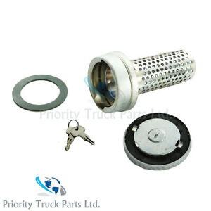 Volvo FH / FM Fuel Anti Theft Siphon Device c/w Steel Fuel Locking Cap 80mm