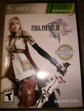 Final Fantasy XIII 13 Microsoft Xbox 360 Complete