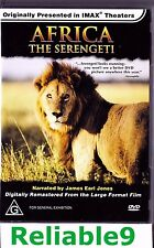 IMax Film - Africa The Serengeti  DVD Brand new not sealed- 2001 Rajon Australia