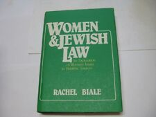 Women and Jewish Law An Exploration of Women's Issues by Rachel Biale