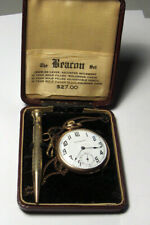Antique Stuyvesant 15 Jewel Pocket Watch with Chain and Pencil