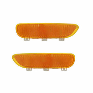 FIT FOR BMW 323CI/325CI COUPE 2001 - 2006 FRONT SIDE MARKER RIGHT & LEFT PAIR