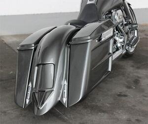 """Harley-Davidson """"Bagger"""" Heckfender / Seitenkoffer Komplettset ab Bj. 2009"""