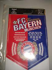 Aufkleber Wimpel m.d. Erfolgen bis 1996  FC Bayern München Fussball