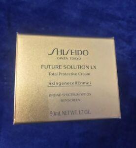 Shiseido Future Solution LX Total Protective Cream SPF 20  50ml/ 1.7 oz Full Siz