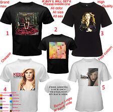 Kelly Clarkson Tour Concert Album All Size Adult S M L-5XL Kids Infants