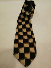 Mens Tie R I Clothing Company Polyester Vintage Rockabilly Jazz Swing Design