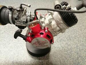 Pocket Bike BZM 50cc 6 Kanal Motor wassergekühlt neu revidiert guter Zustand