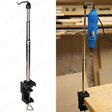 SILVERLINE Rotary Tool Telescopic Hanging Stand Dremel Flexi Shaft Holder Tidy