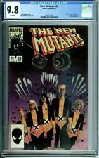 NEW MUTANTS 24 CGC 9.8 WHITE PAGES SIENKIEWICZ Cover & Art Marvel NEW CGC CASE