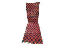 Vintage runner rug 2x8 Moroccan Berber Runners tribal rugs Boucherouite teppich