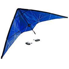 Lenkdrachen 1,4 m,blau,2-Leiner,Drachen,Sportdrachen,Lenkdrache,Kite,Flugdrache