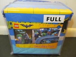 Jay Franco Lego Batman 4-Piece Full Sheet Set  *
