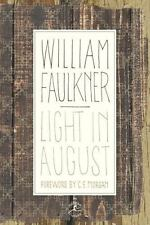 LIGHT IN AUGUST: The Corrected Text by William Faulkner (2002 HC/DJ)