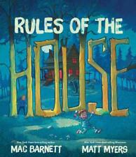 RULES OF THE HOUSE - BARNETT, MAC/ MYERS, MATT (ILT) - NEW HARDCOVER BOOK